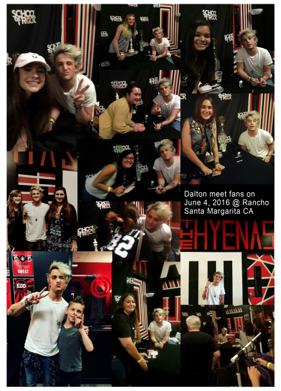 Rancho Santa Margarita Central Park, Dalton Rapattoni perform with school of rock students