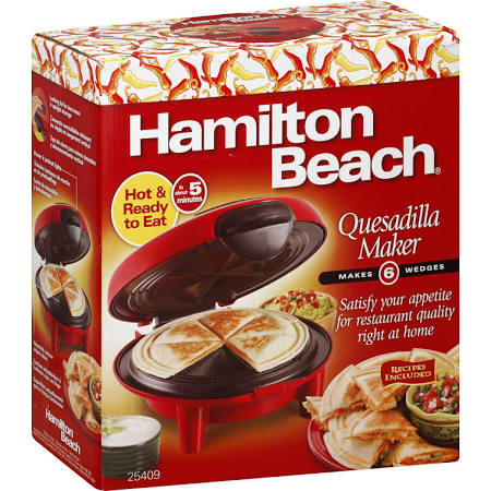hamilton quesadilla maker